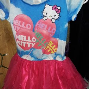 Hello Kitty Girls Tutu Skirt Dress EUC Sz.7/8